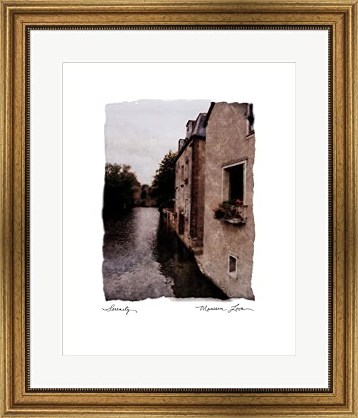 Amazon.com: Serenity by Maureen Love Framed Art Print Wall Picture ...