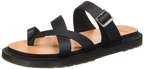 best website 57750 c583c Dr. Doc Martens Kassy Womens Leather Sandals - Blk - 8UK ...