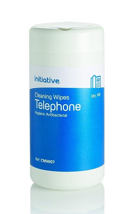 300 x teléfono auricular de teléfono móvil limpieza Toallitas antibacteriales no alcohólicos