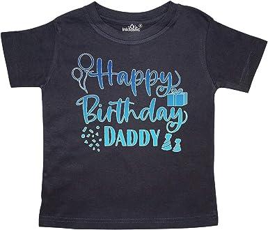 Daddy in Toddler Long Sleeve T-Shirt inktastic Happy Birthday