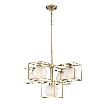 Amazon.com: Designers 94585-BG Fountain - Lámpara de araña ...