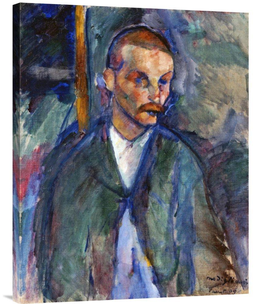 Global Galerie Budget gcs-265177–76,2–360,7 cm Amedeo Modigliani der Bettler von Livorne Galerie Wrap Giclée-Kunstdruck auf Leinwand Art Wand B01K1PKWC4   Neu