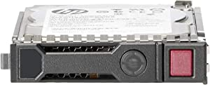 HPE 1.8TB 2.5-inch SFF SAS 12Gb/s 10K RPM, 512e Enterprise, Digitally Signed, Hot-Plug Hard Drive, G8 G9 G10 SmartDrive Carrier