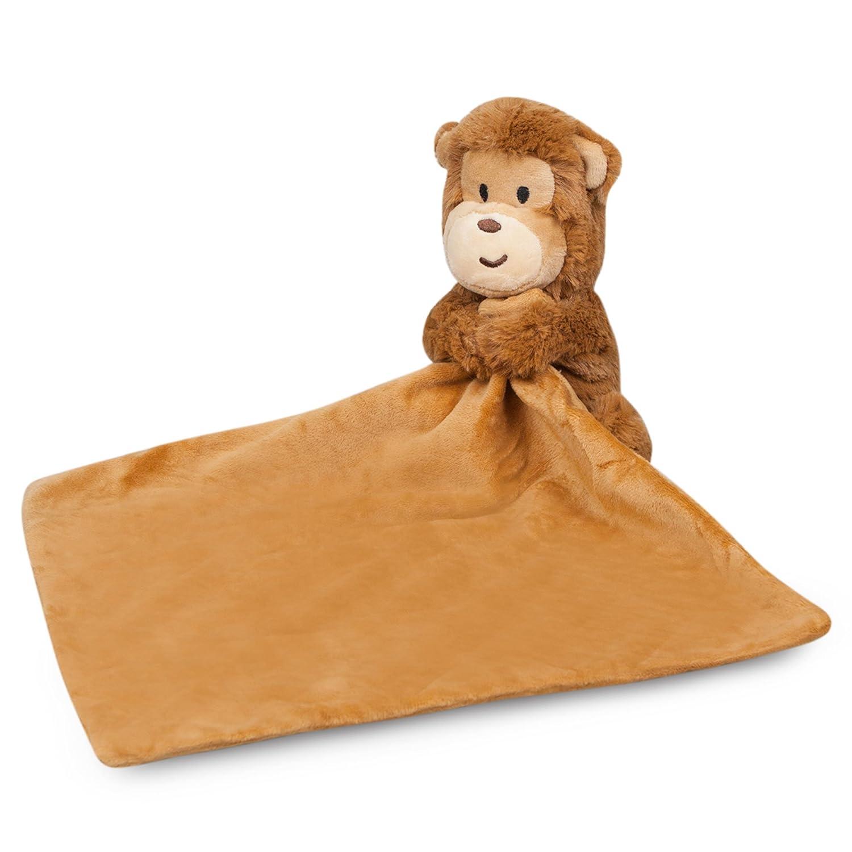 Amazon Com Waddle Monkey Baby Blanket Stuffed Animal Newborn Gift