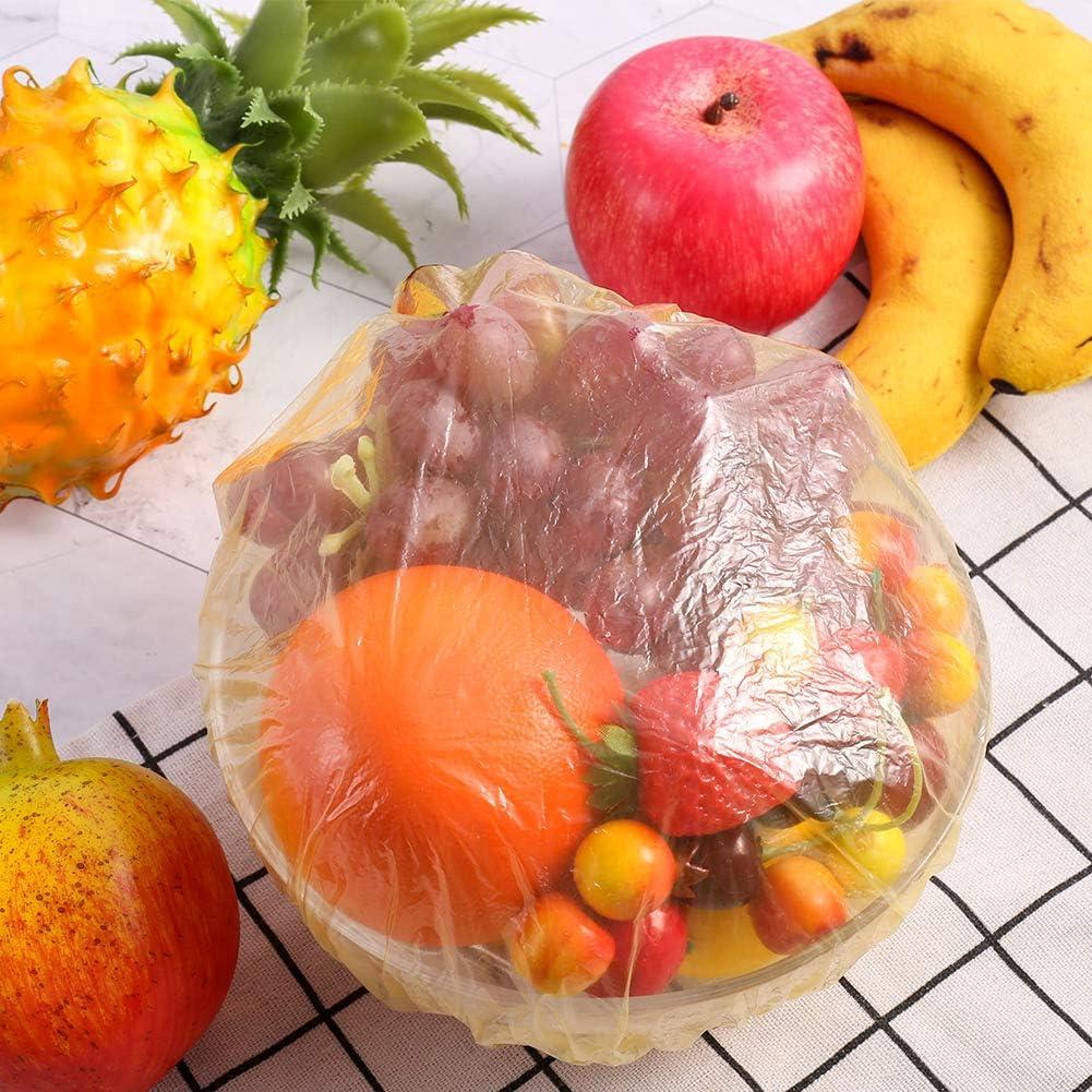 de marca Sturito 3 tama/ños Fundas el/ásticas de pl/ástico para almacenamiento de alimentos paquete de 90 alternativa a papel de aluminio para picnic al aire libre