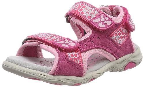 33f7aa1f0 Lurchi Brian - Sandalias con Punta Abierta Niñas  Amazon.es  Zapatos y  complementos