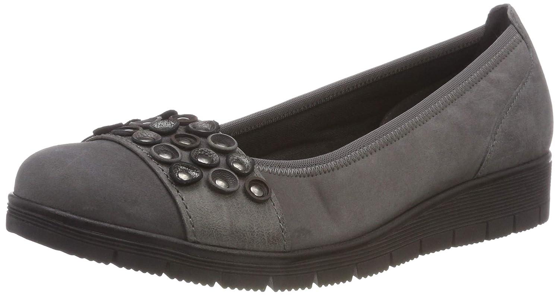 39 BasicBallerines grisdark Shoes Gabor Eu Femme dCeBrox