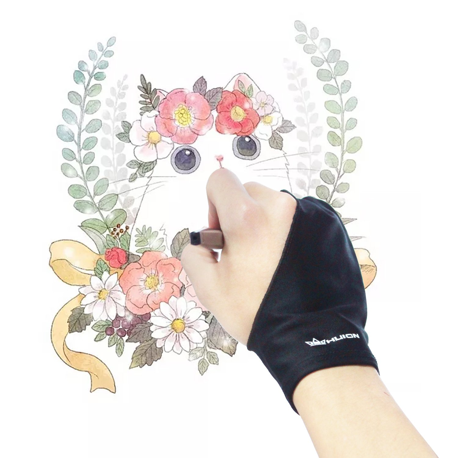 Huion Professional Free Size Artist Drawing Glove for Graphic Drawing Tablet