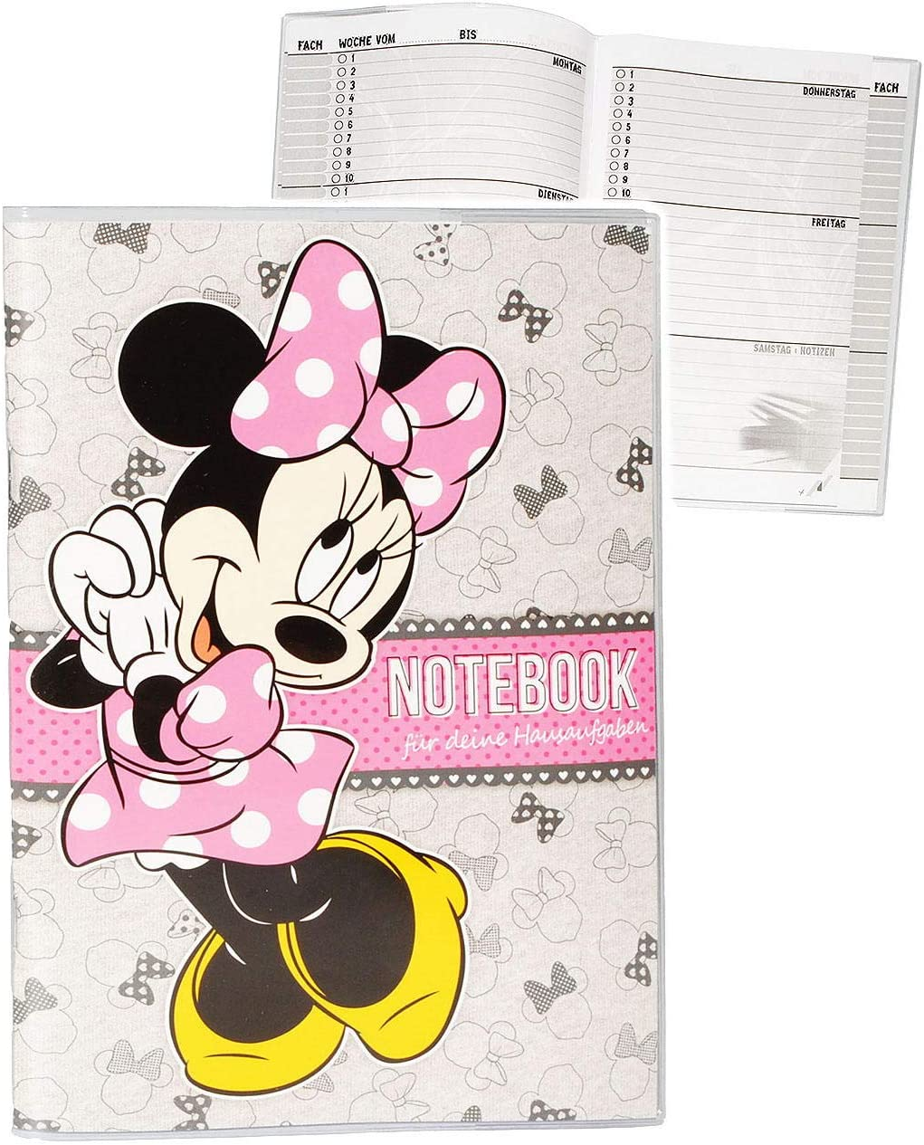100 /% Baumwolle M/ütze // Sommerm/ütze B.. Gr/ö/ße 3 bis 12 Jahre f/ür M/ädchen inkl alles-meine.de GmbH Basecap Kinder Minnie Mouse Name universal /& verstellbar Disney
