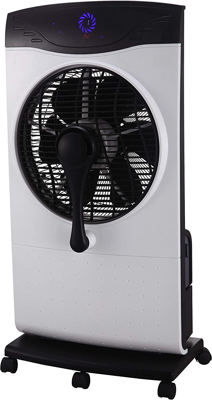 Zephir - ZST31CM Ventilador nebulizador con función de nebulización de agua, panel de control electrónico y mando a distancia