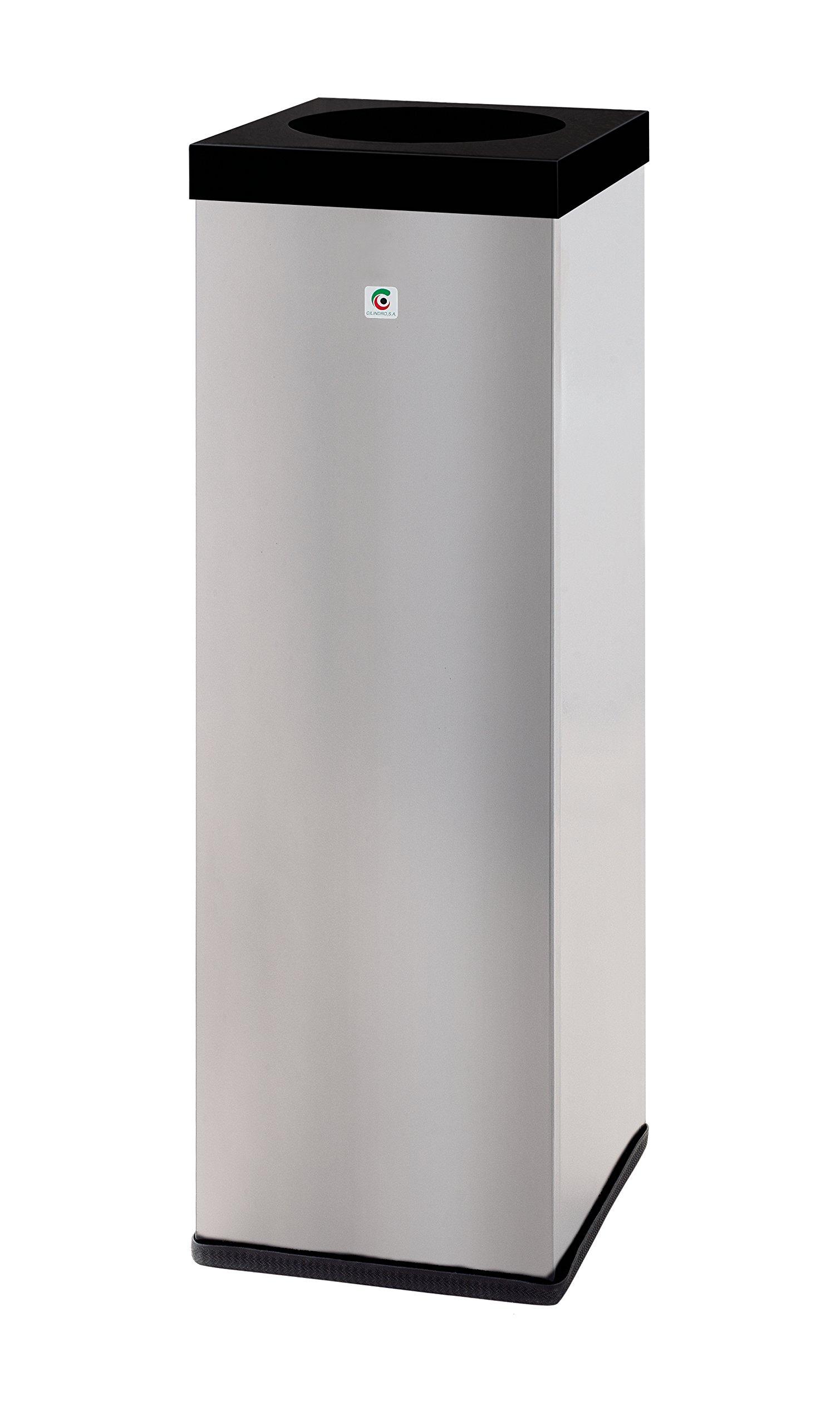 Cylinder P-719006Bin, Metal, Grey, 70x 22x 22cm