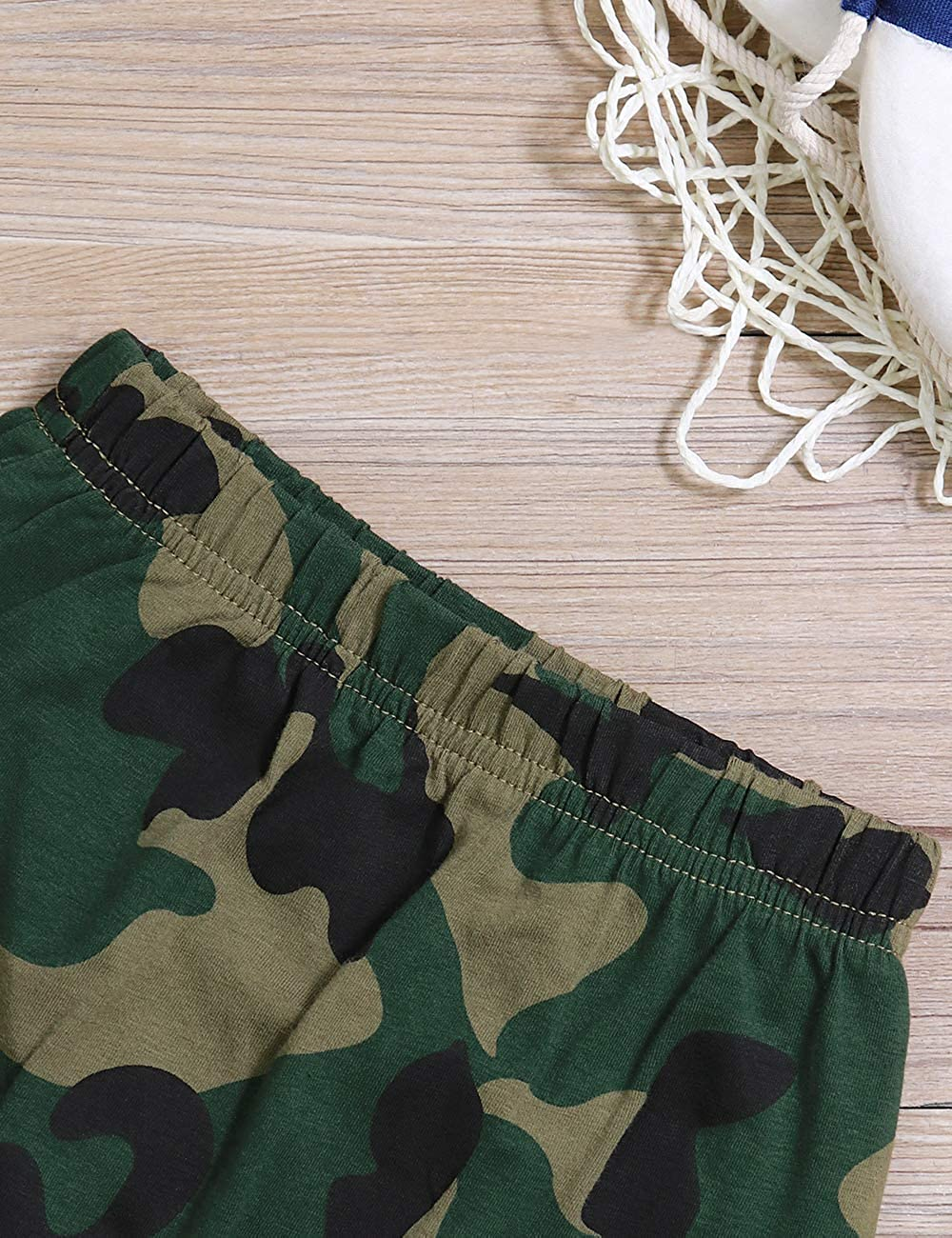 Toddler Baby Infant Boy Clothes Mr Steal Your Girl Vest Camouflage Shorts Summer Outfit Set