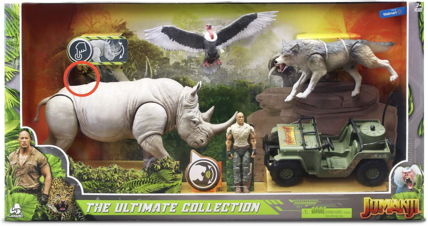 Amazon Com Jumanji The Ultimate Collection Exclusive Figure 4 Pack Set Toys Games