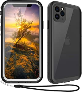Waterproof iPhone 11 Pro Max Case - iPhone 11 Pro Max Full Body Bumper Case Waterproof Apple iPhone Rugged Protection Case with Built-in Screen Water-Resist Case Cover