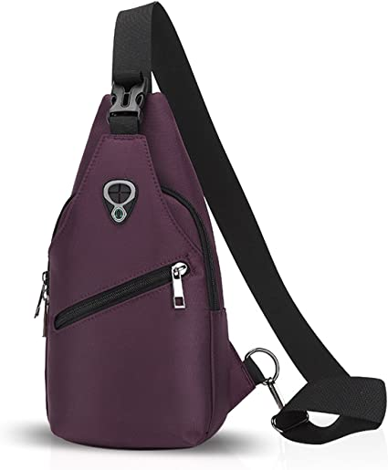 FANDARE Sling Bag Backpack Chest Pack Bag Single Men//Women Polyester