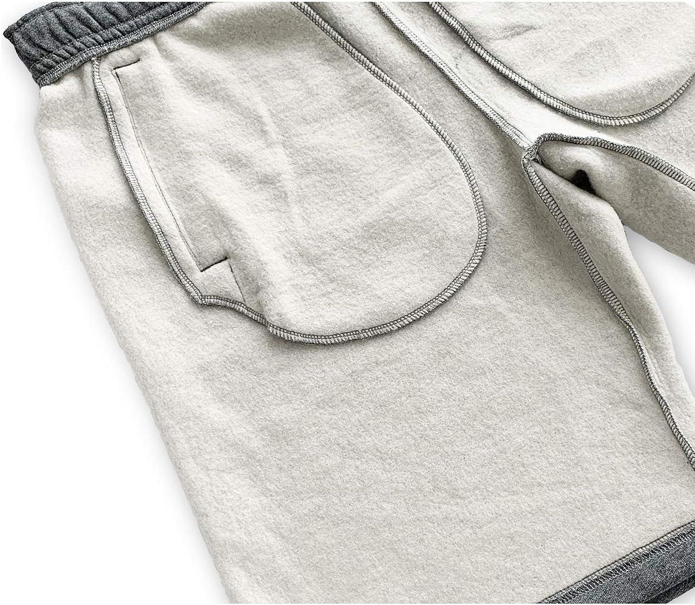 Naviskin Mens Fleece Lined Gym Workout Shorts Jersey Club Shorts