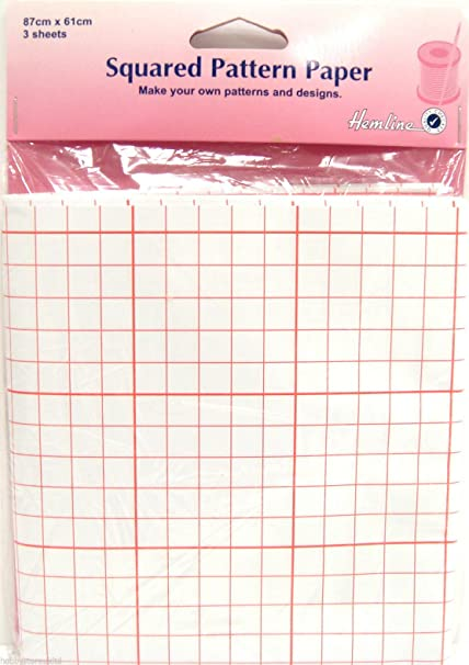 3 sheets 76x102cm Tracing Paper for tracing patterns for dressmaking and craft