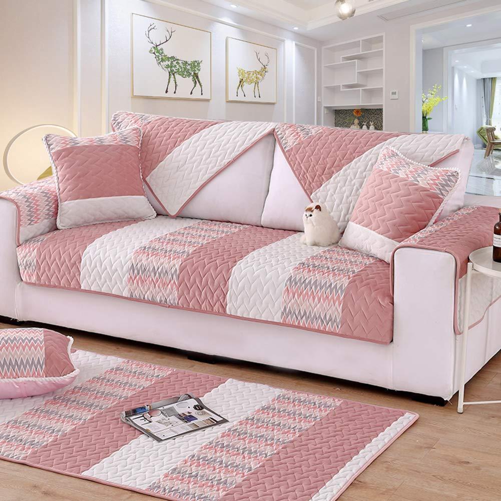 Amazon.com: Winter Short Plush Sofa slipcover, Thicken Non ...