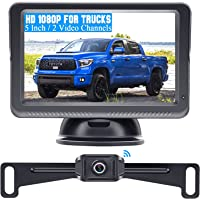 DoHonest S23 5 Inch HD 1080P Wireless Backup Camera 5'' Monitor Driving/Reversing Rear View Camera Kit with Stable…