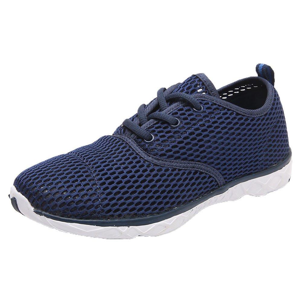 [OcEaN Shoes] メンズ ダークブルー 9.5 M US