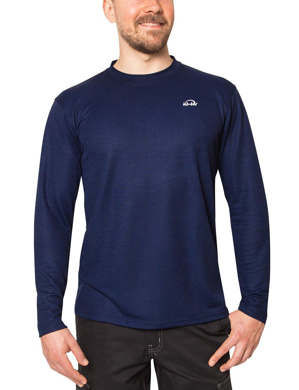 iQ-UV 50 –  Camiseta de, Protecció n Solar Cuello Redondo, Corte Regular, Fabricado en Europa Protecció n UV Manga Larga Camiseta Protección Solar Cuello Redondo Fabricado en Europa Protección UV Manga Larga Camiseta