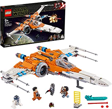 Lego 75273 Star Wars Poe Dameron S X Wing Fighter Building Set The Rise Of Skywalker Movie Series Amazon Co Uk Toys Games