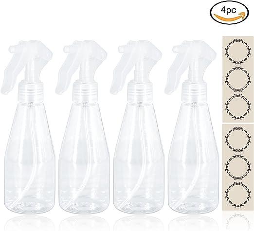 Kofun Almondcy - 3 Botellas de plástico atomizadoras de 200 ML ...