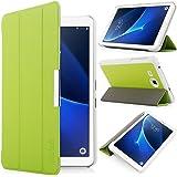 iHarbort® Samsung Galaxy Tab A 7.0 custodia in pelle, ultra sottile di peso leggero Case Cover custodia in pelle per Samsung Galaxy Tab A 7.0 pollice T280 T285 Holder, (Galaxy Tab A 7.0, Verde)