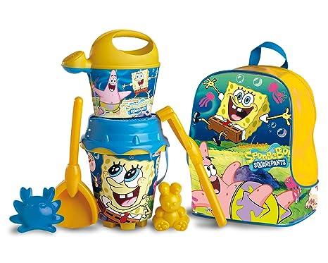 Unice Toys - Mochila Conjunto Playa Bob Esponja 25X19X30 16-23782