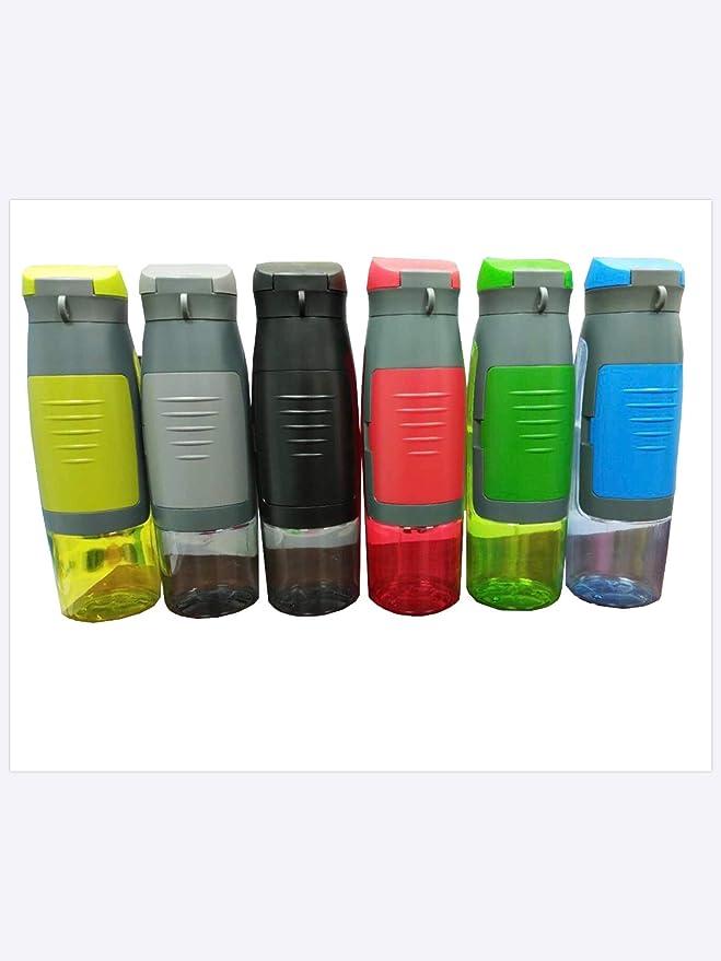 S&S Botella con compartimiento de almacenamiento integrado ...