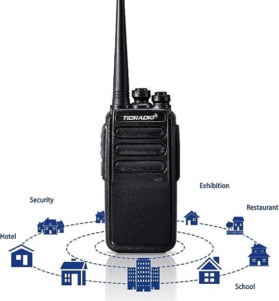 TIDRADIO TD-777 Two Way Radio UHF VOX 2Way Radios Long Range 16CH 2 Way Radio USB Charging Walkie Talkies for Adults 20 Pack