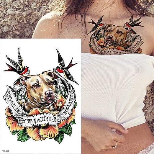 Handaxian 3 Piezas Arte Corporal Pegatina Apliques Tatuaje Pareja ...
