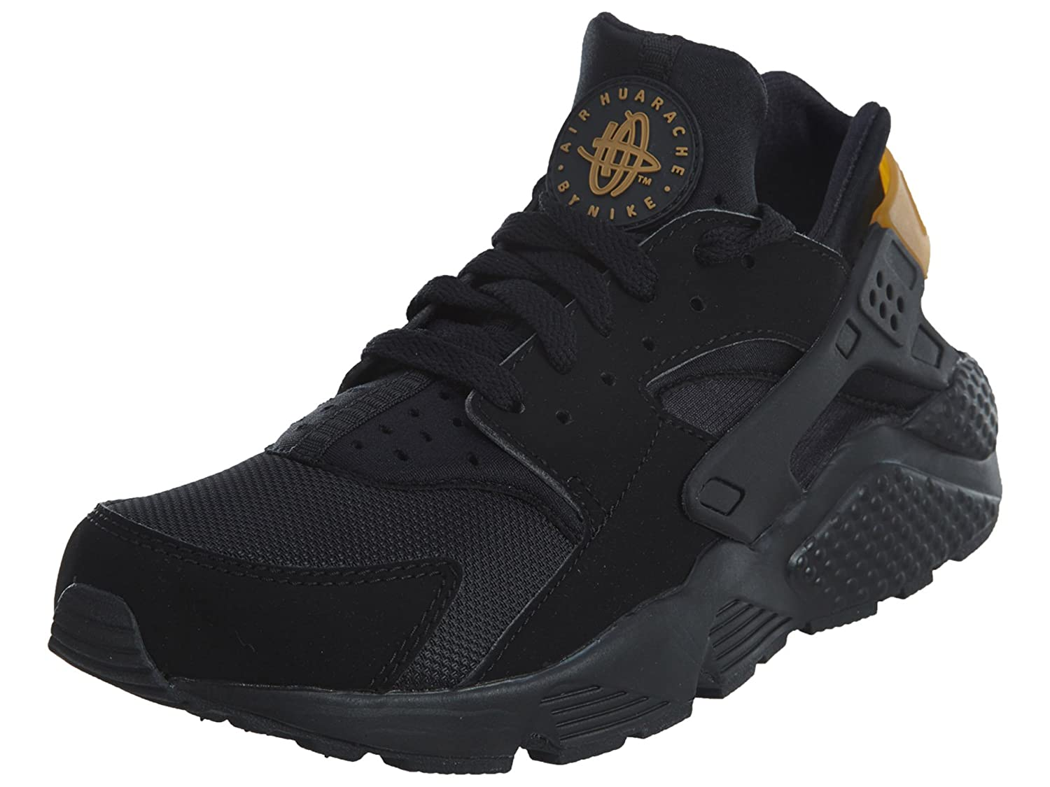 papel Descartar bueno  Buy Nike Men's Air Huarache, Black/Metallic Gold, 7. 5 M US at Amazon.in