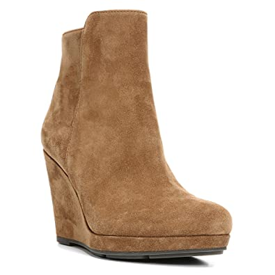 Via Spiga Womens Black Suede Boots Darina