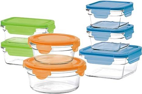 Amazon Com 14 Piece Container Set Kitchen Dining