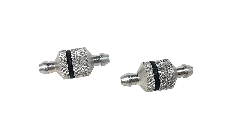 # 8056 Apex RC Products 2 Filtros de Combustible Paquete de Aluminio Serviceable Nitro RC Radio Control