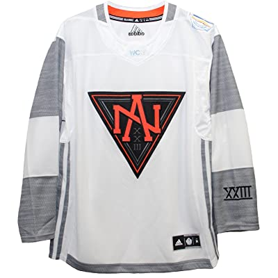 Men's North America White 2016 World Cup of Hockey Premier Blank Jersey by Adidas