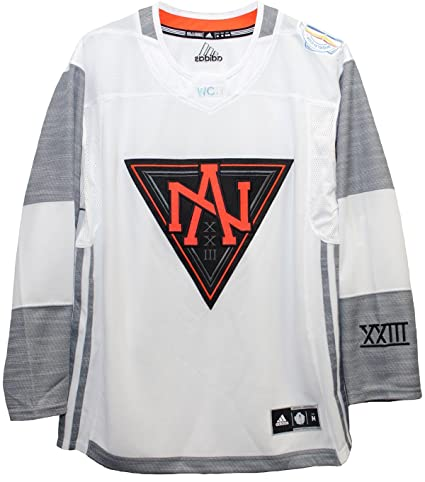 Men s North America White 2016 World Cup of Hockey Premier Blank Jersey by  Adidas (2X 562a69d1c