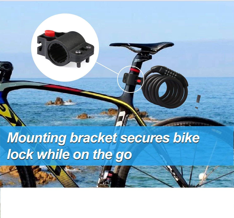 Candado de Bicicleta BIGO Seguridad Candado de Cable Mejor ...