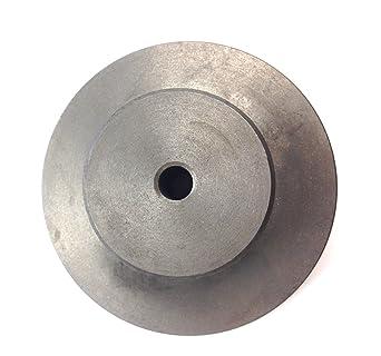 "Threaded Backplate Adapter 4/"" 3-Hole 3//4/""-16 For Lathe Chucks"