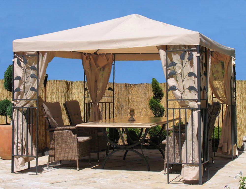 Quick-Star 4 Laterales con mosquitera para Hojas Carpa 3 x 3 m página Pared Arena: Amazon.es: Jardín
