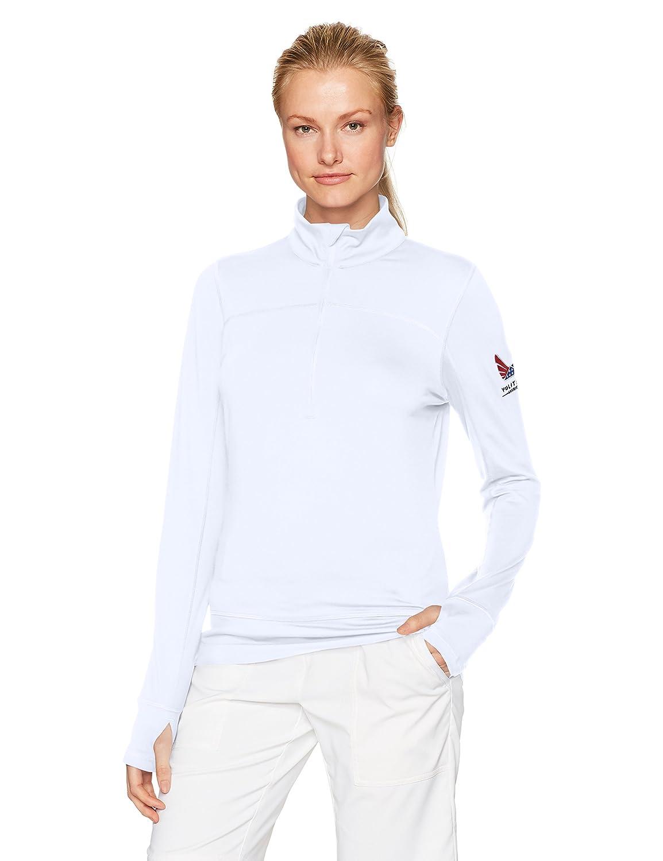 (Medium, Bright White) - Puma Golf Womens 2017 women's volition 1/4 zip popover   B01NCFJDSK