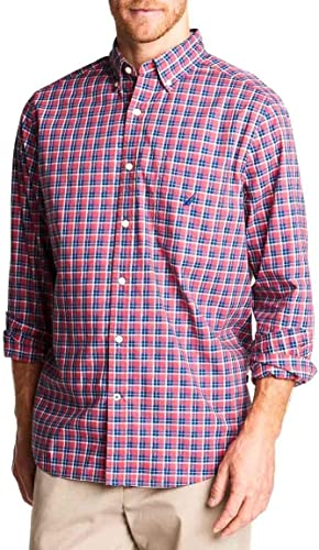 Nautica Camisa Woven Rojo Hombre XXL Rojo: Amazon.es: Ropa y accesorios