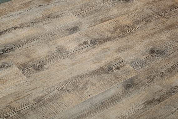 8 7mm Extra Thick Click Lock Luxury Vinyl Flooring Plank 100 Waterproof W Eva Underpad 47 28sqft 4 21 Sqft Superior Wear Protection 28 Mil Wear Layer And Uv Coating Scratch Resistance Amazon Com