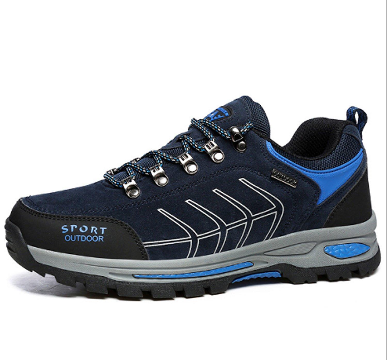 Laufende Schuhe der Männer gehendes wanderndes kletterndes Schuh-Freizeit-Reise-Anti-Blockiertiefes Trekking-im Freien beschuht