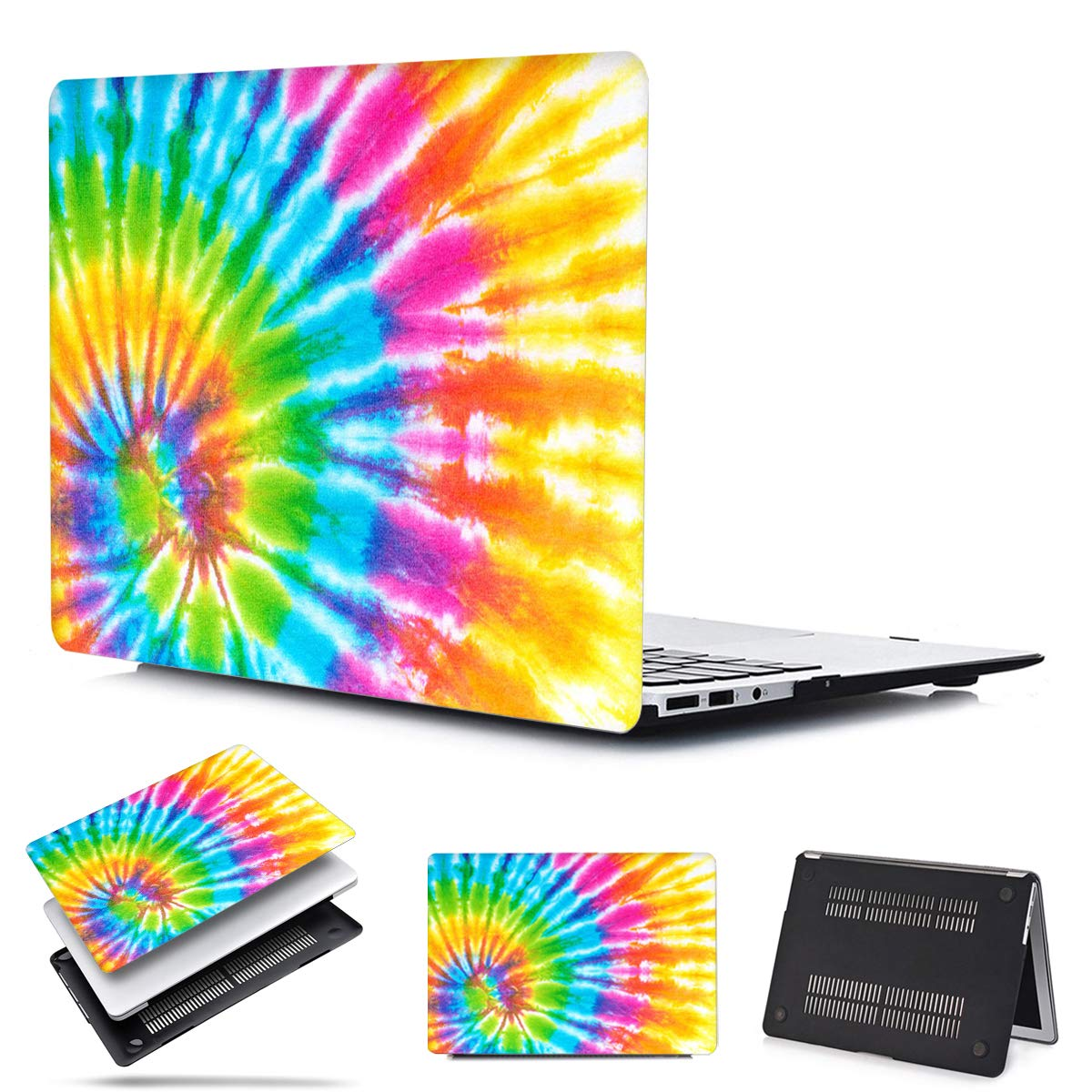PapyHall Laptop Case Color Printing Plastic Shell Cover Compatible 2008-2012 Release MacBook Pro 13 inch CD-ROM (No Retina/Touch) Model: A1278 DC-Dye Color