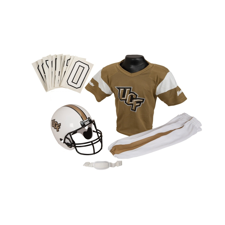 Amazon.com   Franklin Sports NCAA Deluxe Youth Team Uniform Set   Football  Uniforms   Sports   Outdoors c37617da9