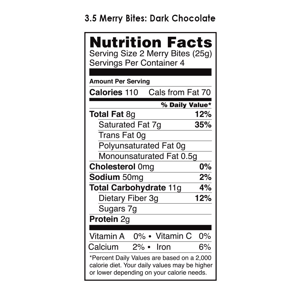 Merry's Choco Macaroons (Pack of 8) by Hail Merry (Image #2)