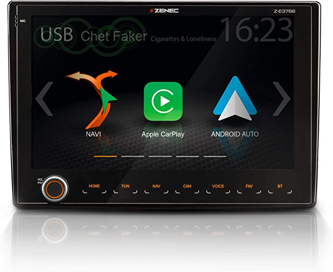 Zenec Z E3766 Infotainer Für Fiat Ducato Mit Android Auto Applecarplay 2 Din Mediencenter Mit 9 22 9 Cm Touchscreen Autoradio Mit Dab Usb Zum Reisemobil Navi Erweiterbar Navigation