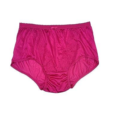 7c9dab27bfd271 KJ11 Pink Lace Briefs Nylon New Knickers Panties Underwear Lingerie Men  Women (XL(UK